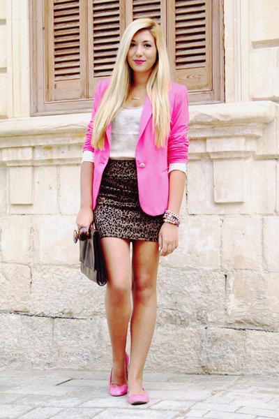 pink blazers 30 looks to help you rock it  fashion