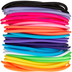 Asos - Pack Of Opaque Gummy Bracelets