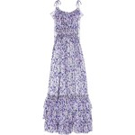 D&G Floral-print silk-chiffon maxi dress