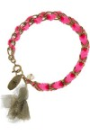 ISABEL MARANT - Summertime brass and silk tassel bracelet