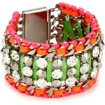 LK Designs - Summer Breeze Multi-Color Neon Crystal Bracelet
