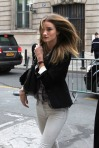 'Rosie Huntington-Whiteley Sighting In Paris'
