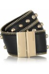VERSACE Studded leather wrap bracelet
